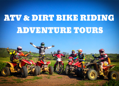 atv and dirt bike riding tours