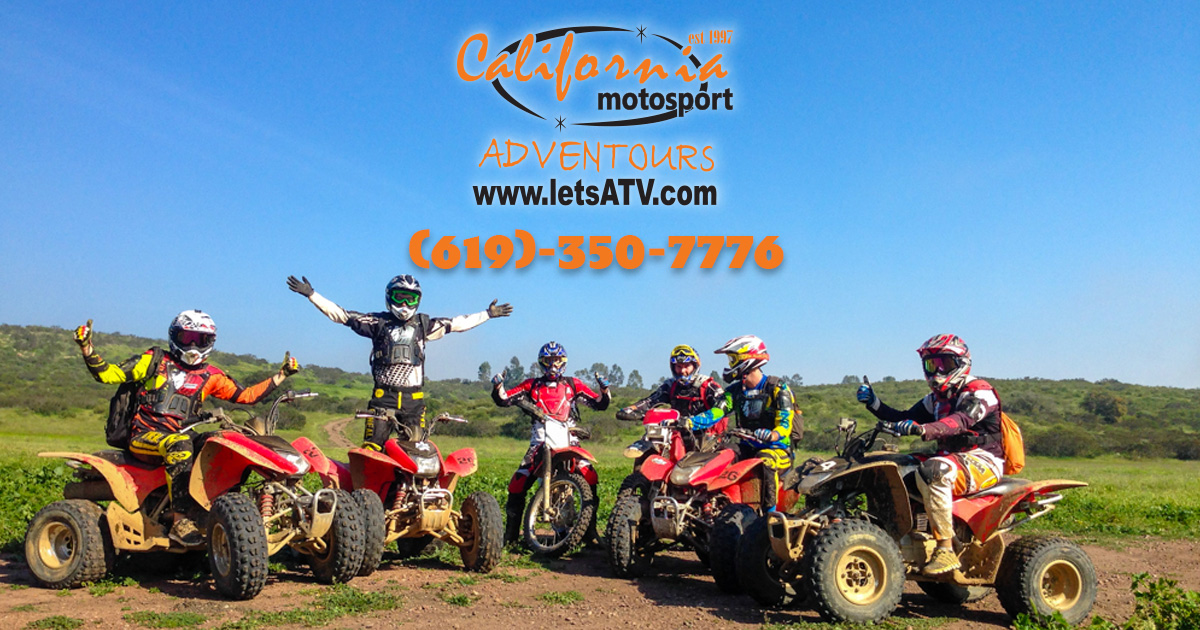 Dirt Bikes Atvs And Riding Gear Rentals In San Diego And Baja
