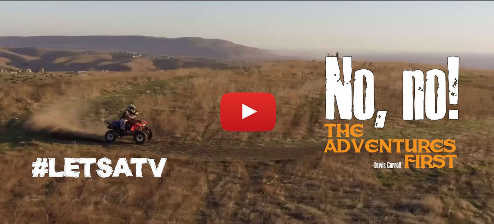 ATV bike riding video