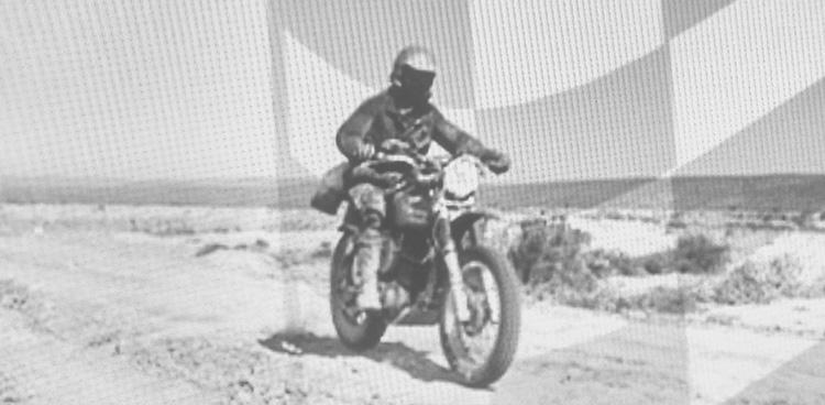 riding dirt bikes in Baja, California
