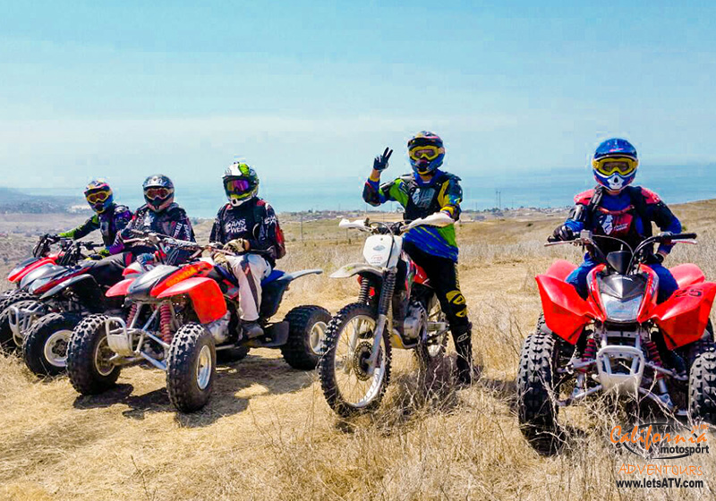 dirt bike and atv riding tours San Diego