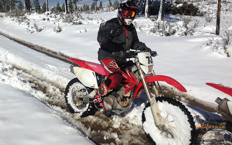 winter ATV bike riding tours Baja