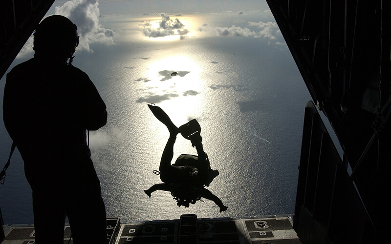 bachelor party ideas skydiving